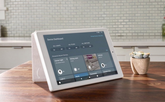 Amazon smart home è disponibile su alcuni tablet Fire