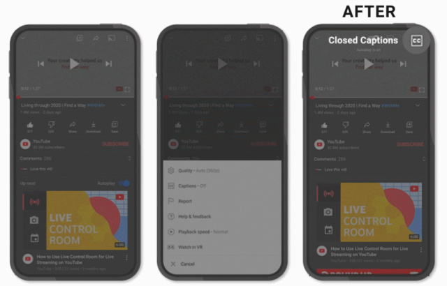 YouTube mobile ha adesso controlli più snelli