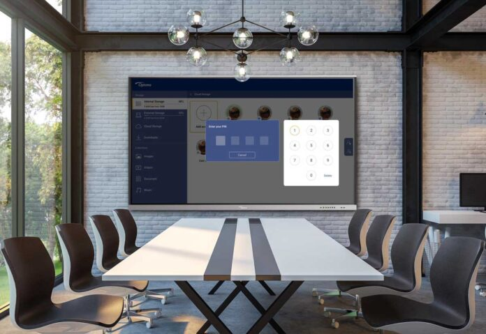 Nuovi monitor Creative Touch Serie 5 di Optoma