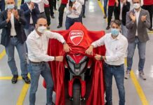 Ducati Multistrada V4 è la prima moto al mondo con radar anticollisione