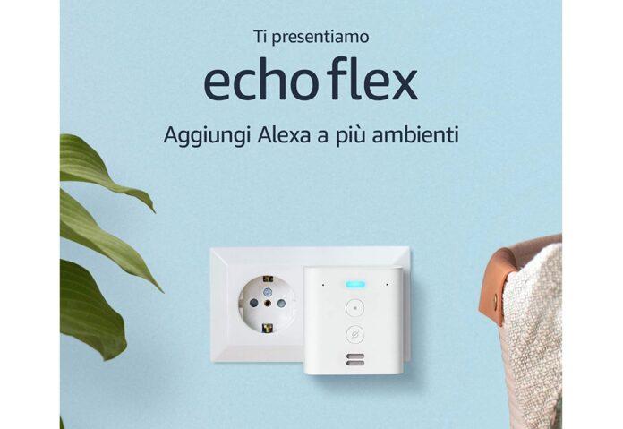 Anticipo di Prime Day: Echo Flex a solo 14,49€!
