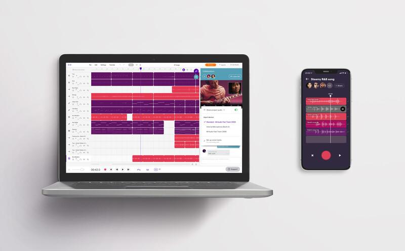Soundtrap Capture, nuova app musicale per registrazioni collaborative