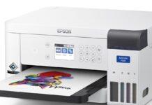 Epson SureColor SC-F100 è la stampante a sublimazione per start-up e aziende