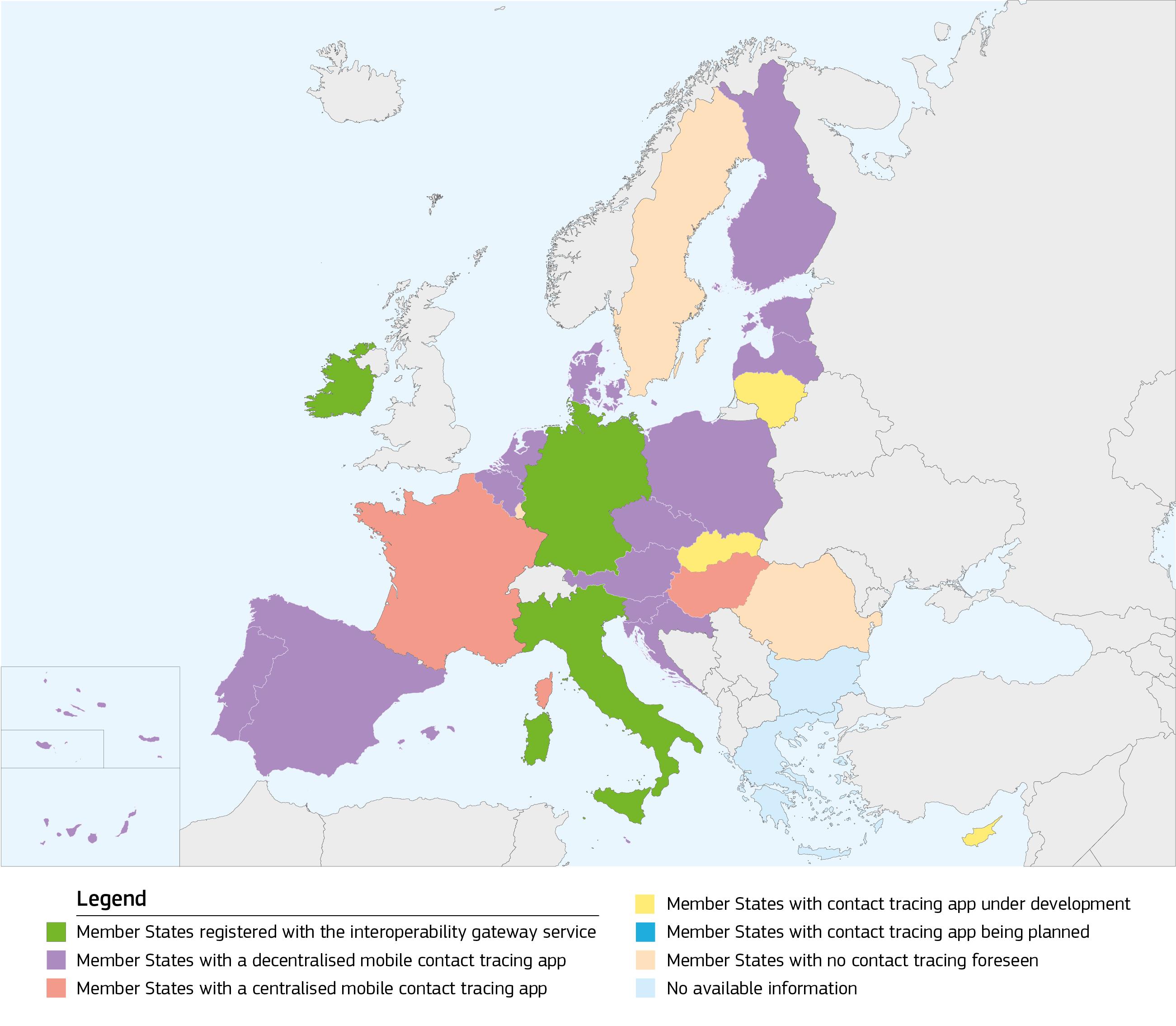 Coronavirus, attivo il gateway di interoperabilità dell'UE