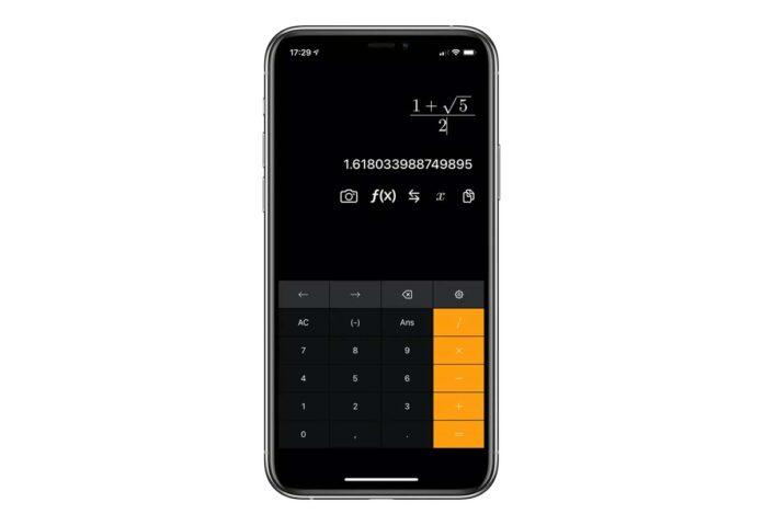 Euclid Calculator, calcolatrice scientifica per Mac e iPhone
