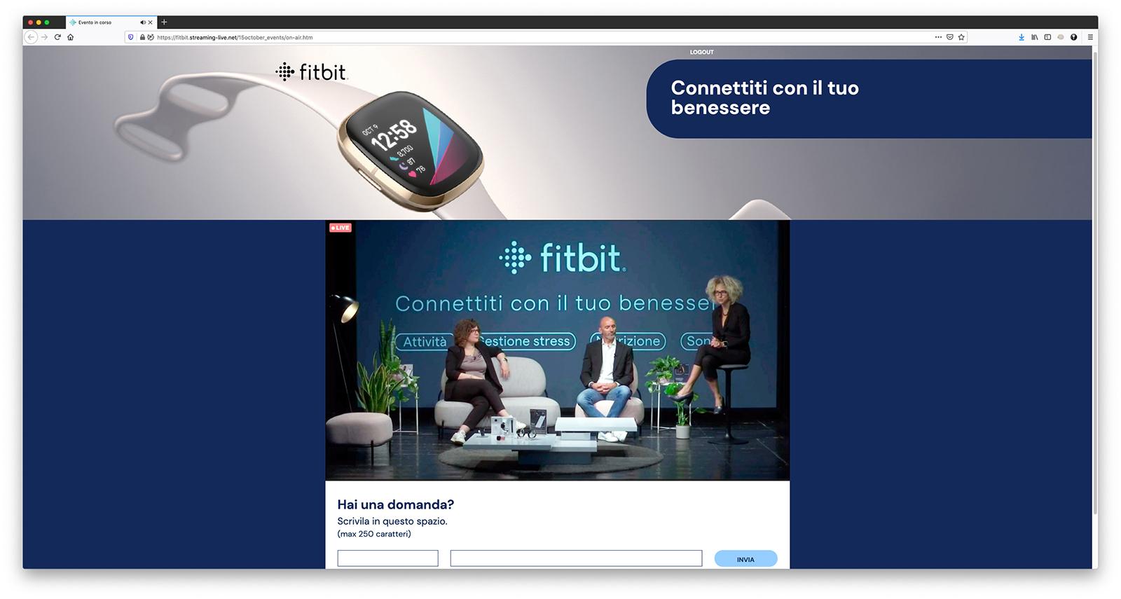La salute secondo Fitbit, dall'healtwach ad una vita più salutare