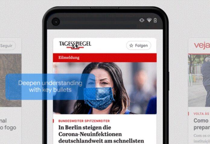 E' arrivato Google News Showcase, l'antagonista di Apple News+