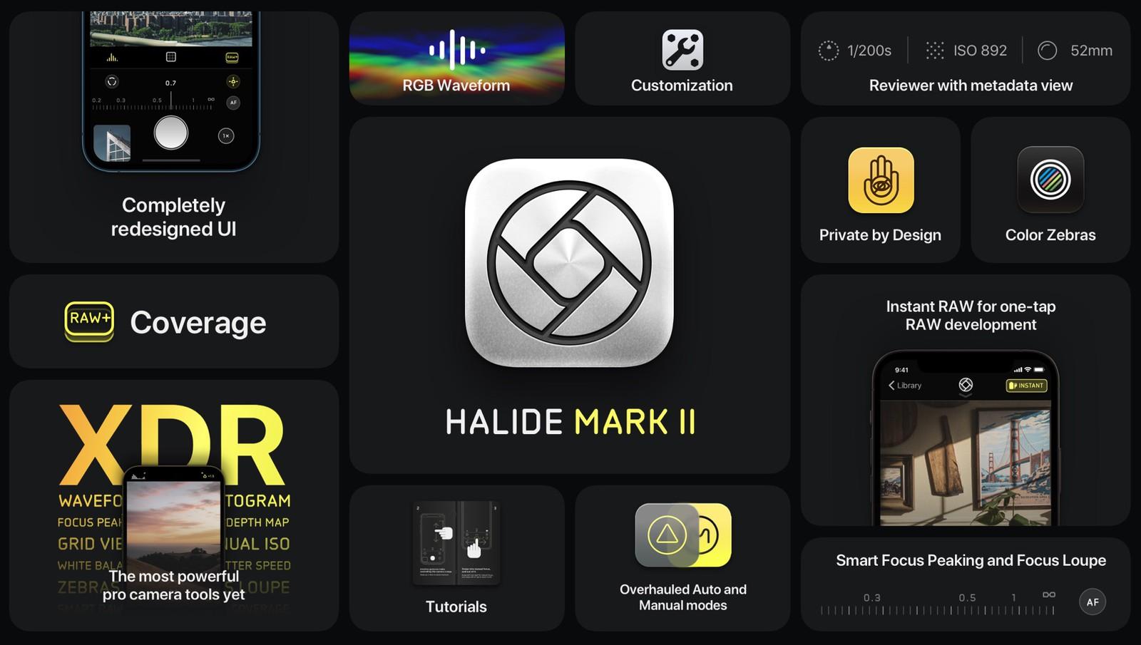 Halide Mark II spinge oltre la fotografia su iPhone