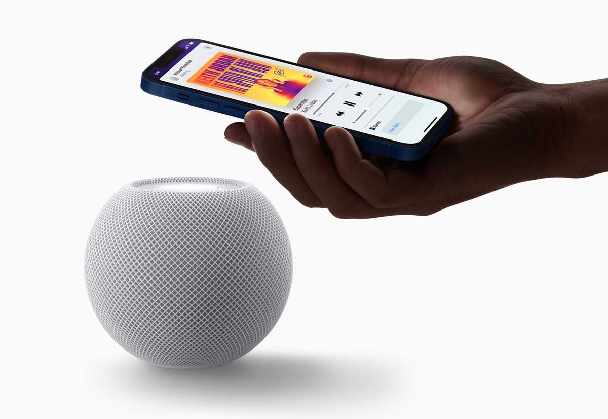 HomePod mini, primo dispositivo di Apple a integrare il protocollo Thread