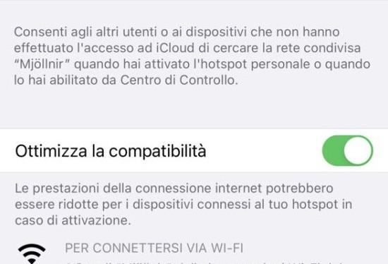 Con gli iPhone 12 si possono usare le connessioni Wi-Fi 5Ghz come hotspot