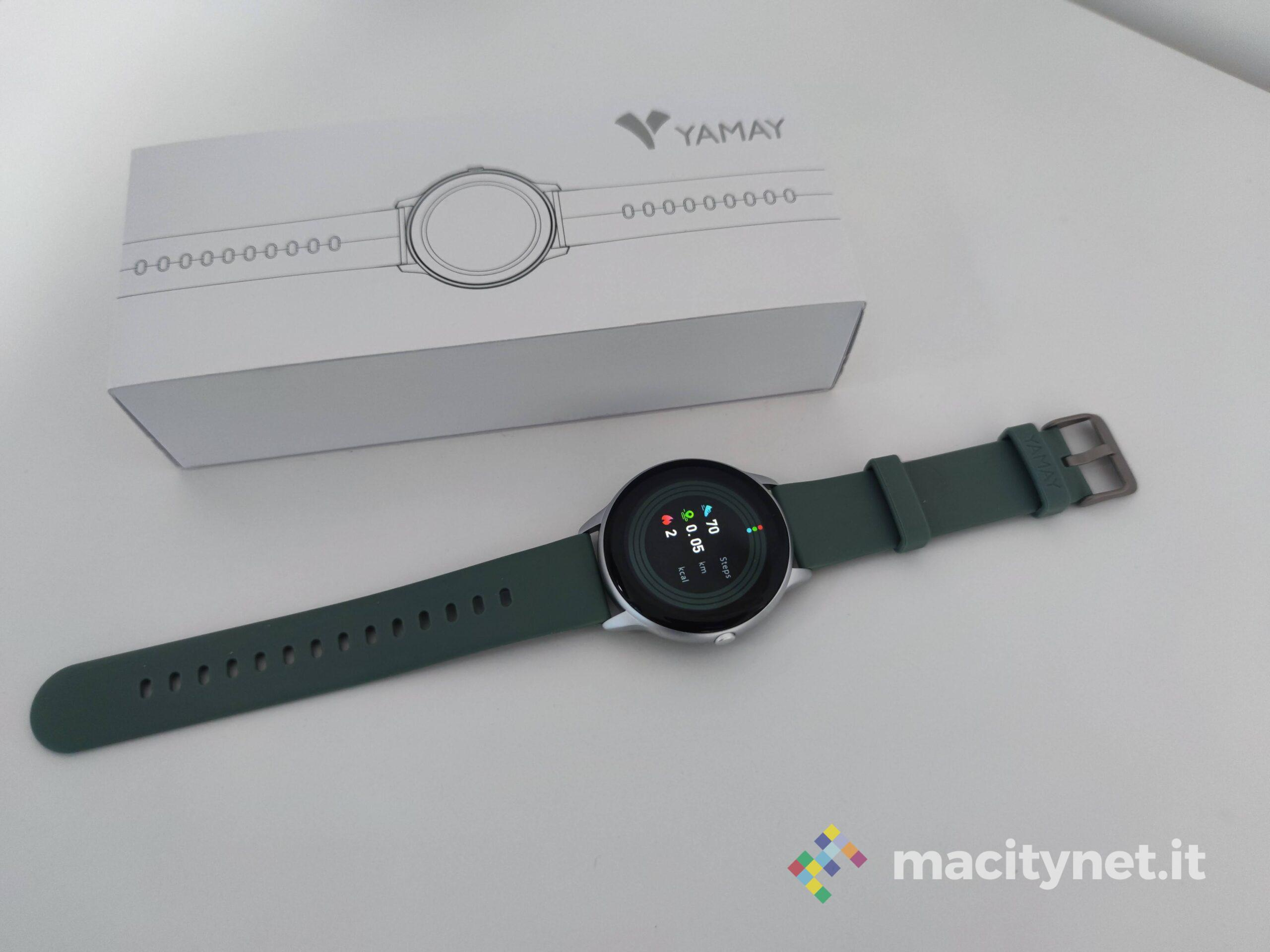 Recensione smartwatch Yamay