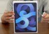 iPad Air 4 unboxing mostra il nuovo design e il tasto con Touch ID