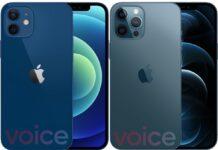 iPhone 12 e 12 Pro svelati in tutti i colori nelle foto in rete