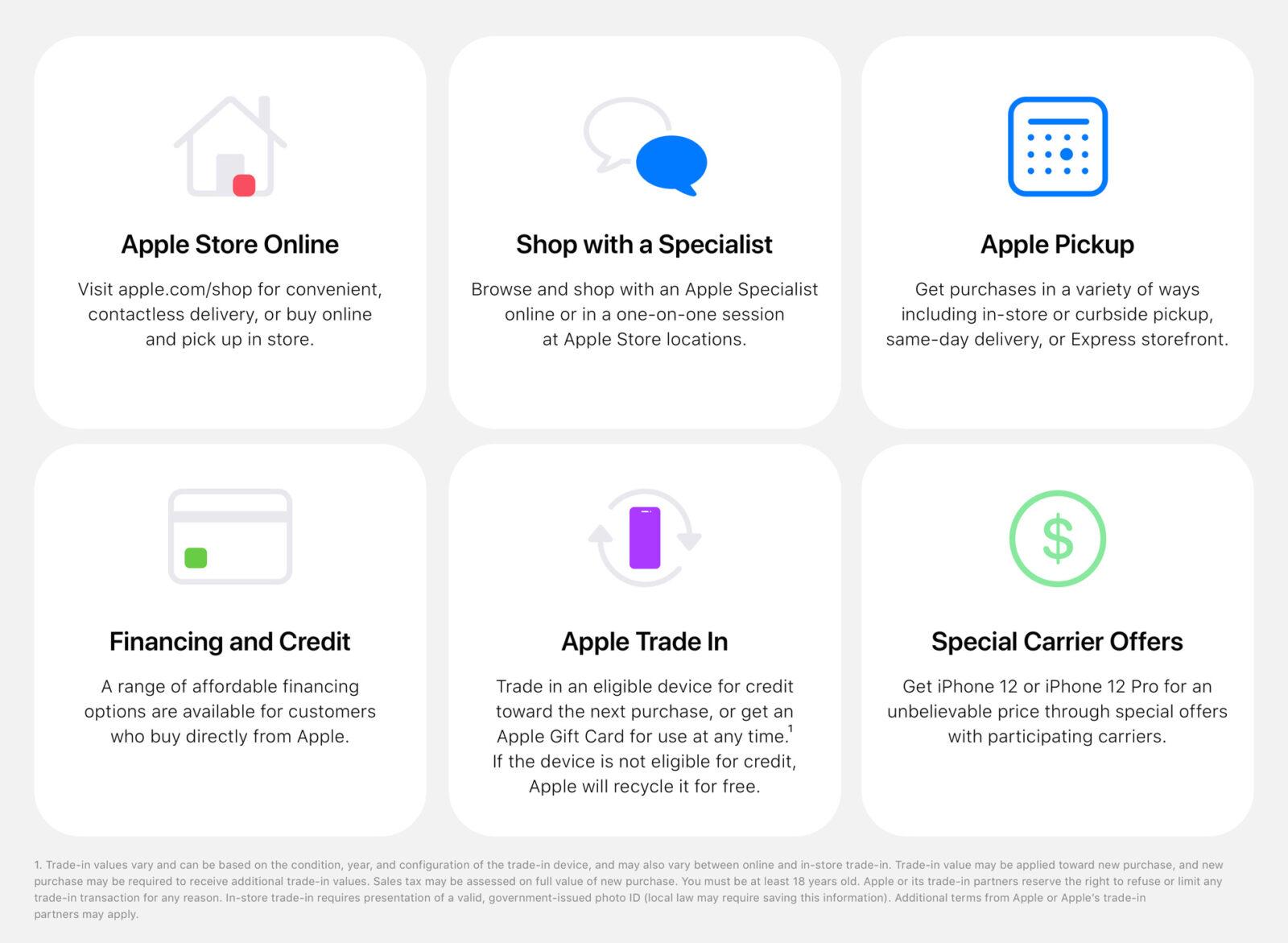 Apple pensa a nuovi modi per vendere iPhone 12 in sicurezza ai tempi del COVID-19