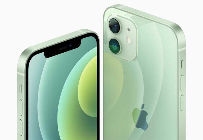 La batteriadi  iPhone 12 mini è da 2.227 mAh, quella di iPhone 12 è da 2.815 mAh