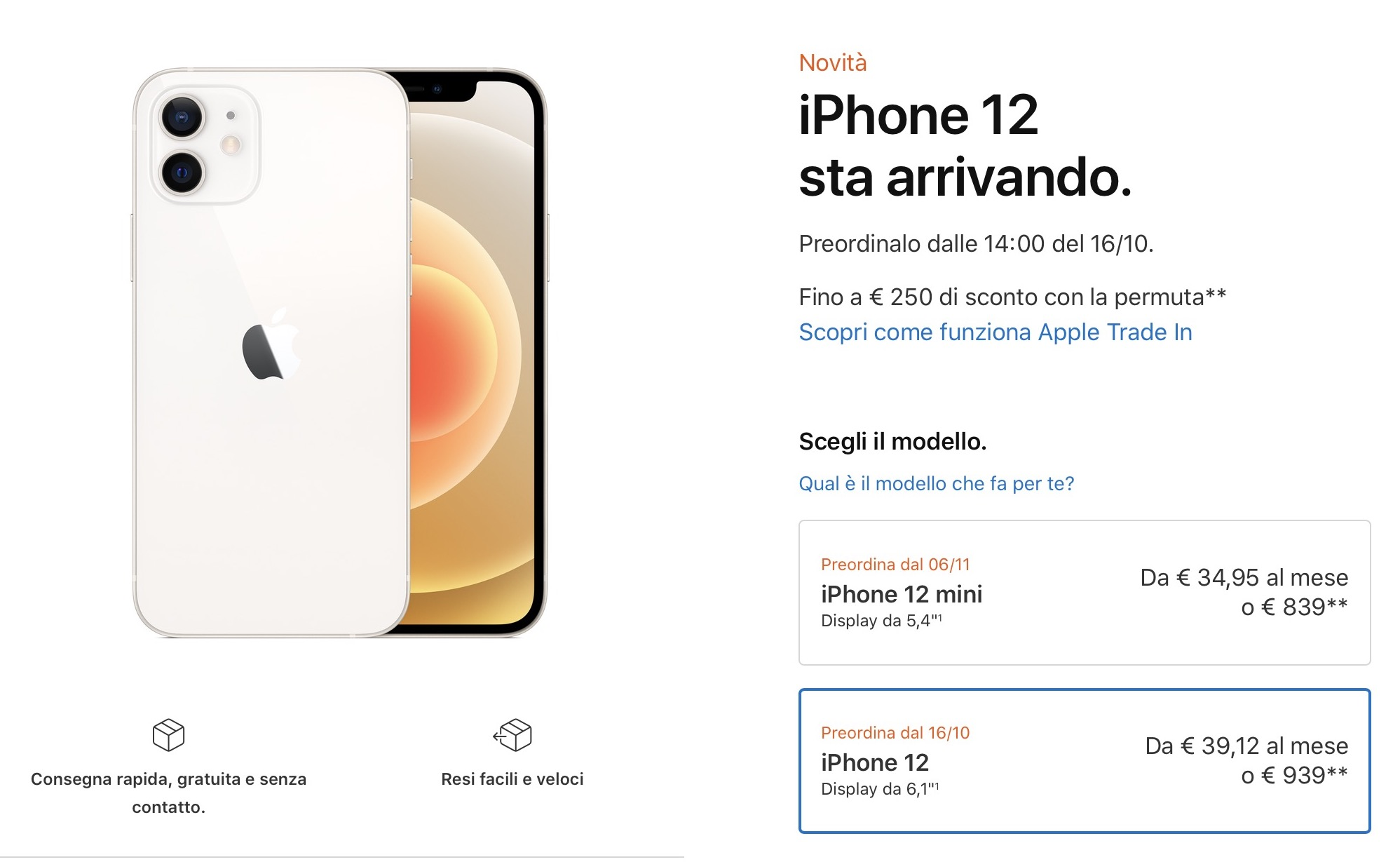 2 milioni di iPhone 12 ordinati in 24 ore