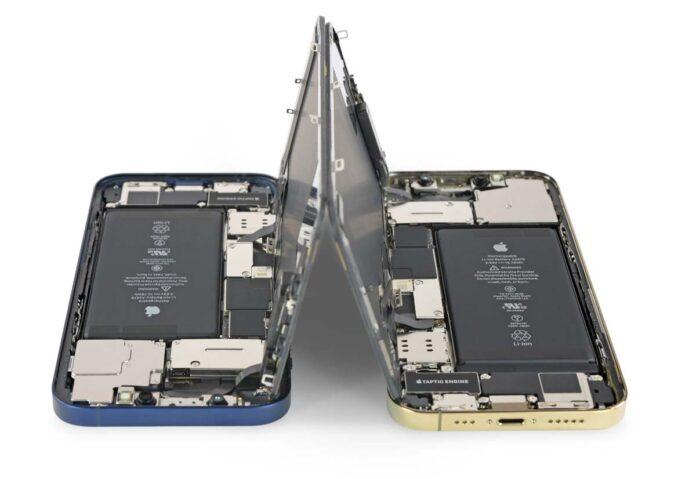 Lo smontaggio degli iPhone 5G rivela i cambiamenti per il 5G