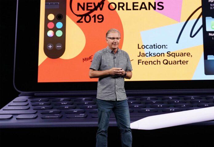 Greg Joswiak nella pagina web di Apple dedicata ai dirigenti