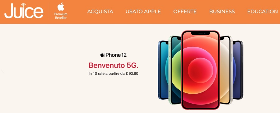 juice iphone 12 disponibili