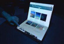 Horseshoe Bend Project: Intel, Samsung e Microsoft lavorano su un notebook pieghevole da 17″