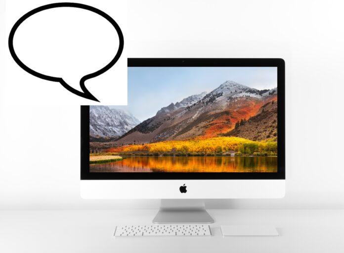 Come trasformare un testo in voce registrata su file audio con macOS