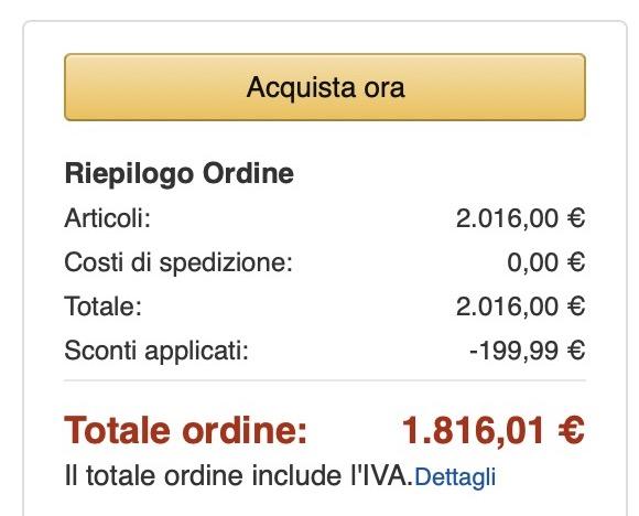 Super sconto su MacBook Pro 13″ 256 GB: risparmio fino a quasi 280€