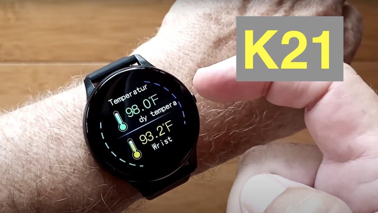 K21, lo smartwatch sportivo dal sapore classico a 17,84 euro