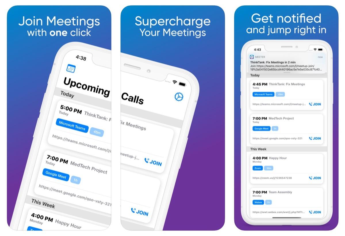 Meeter, una sola app per gestire videoconferenze da più di 25 piattaforme