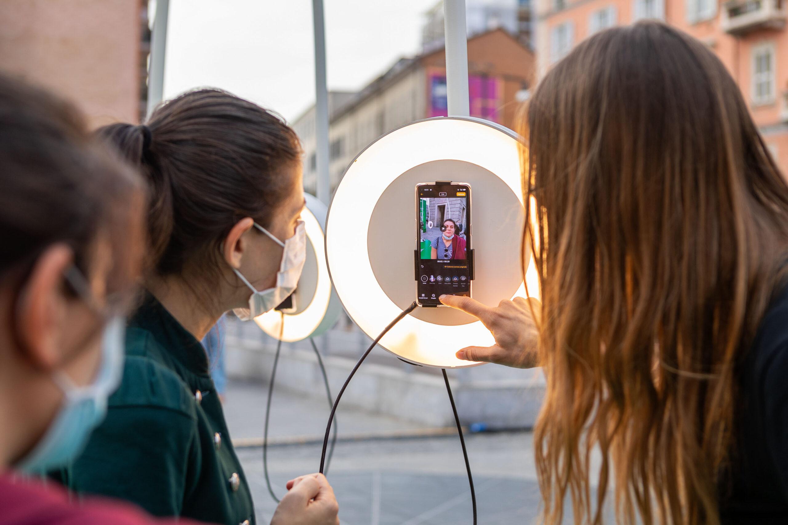 A Milano l'OPPOrtunity Creative Lab, l'installazione creativa e connessa che mostra il ruolo della tecnologia nel futuro