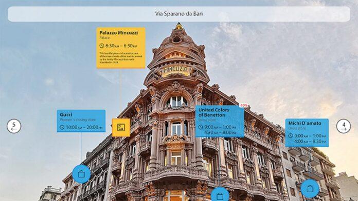 Bari è la prima città al mondo che ha la sua copia in realtà aumentata