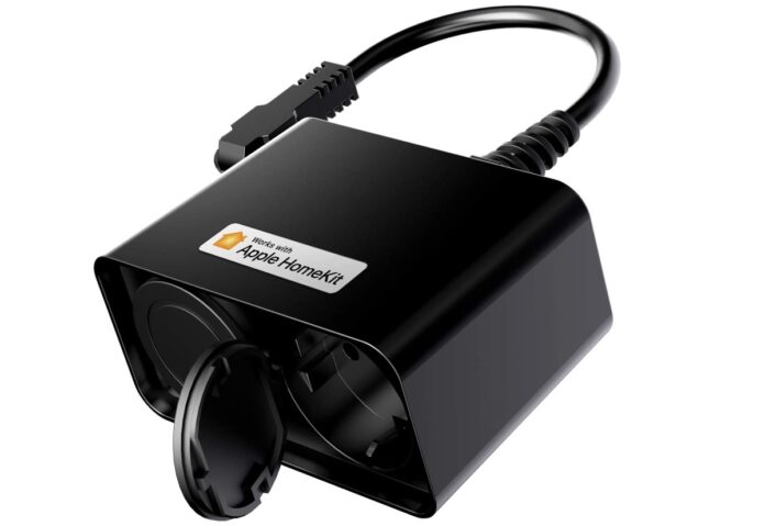 Doppia presa da esterno compatibile Homekit e Alexa: solo 20,54