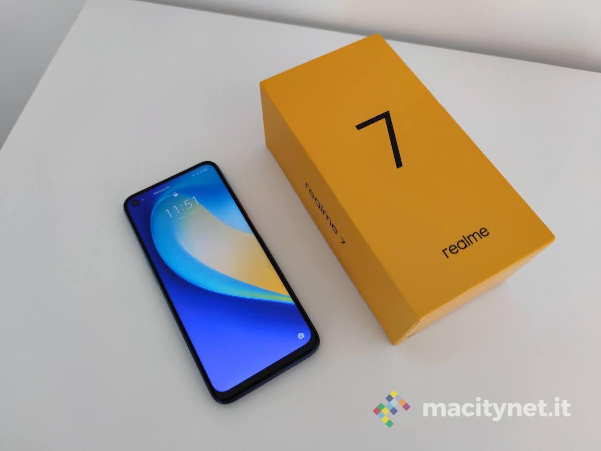 Recensione Realme 7, un buon gaming phone super low cost