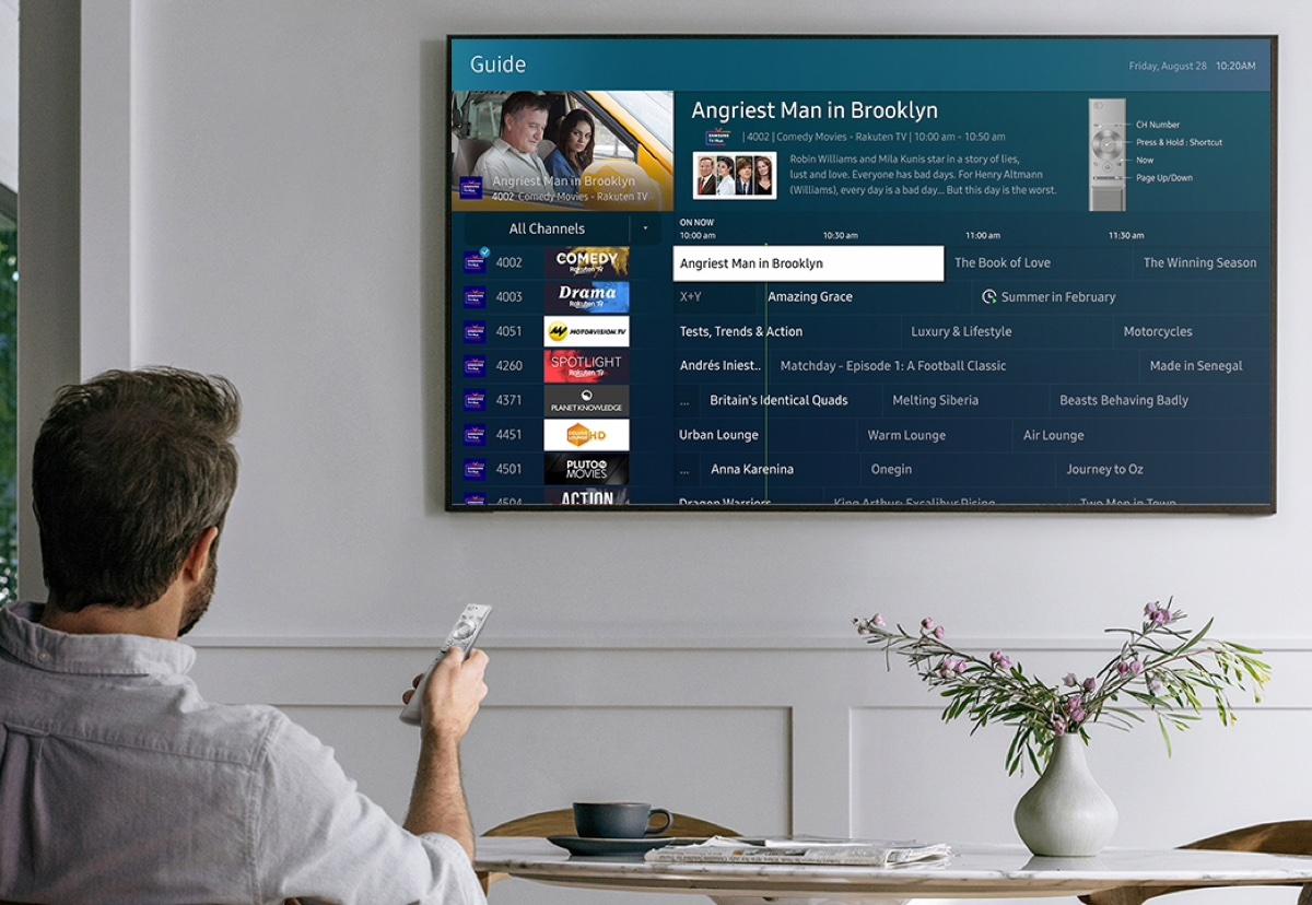 Samsung TV Plus amplia l19;offerta di canali e contenuti gratuiti