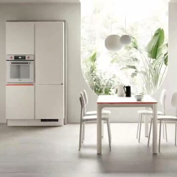 Scavolini, Bticino e Amazon Alexa insieme per cucina e smart living Dandy Plus di Fabio Novembre