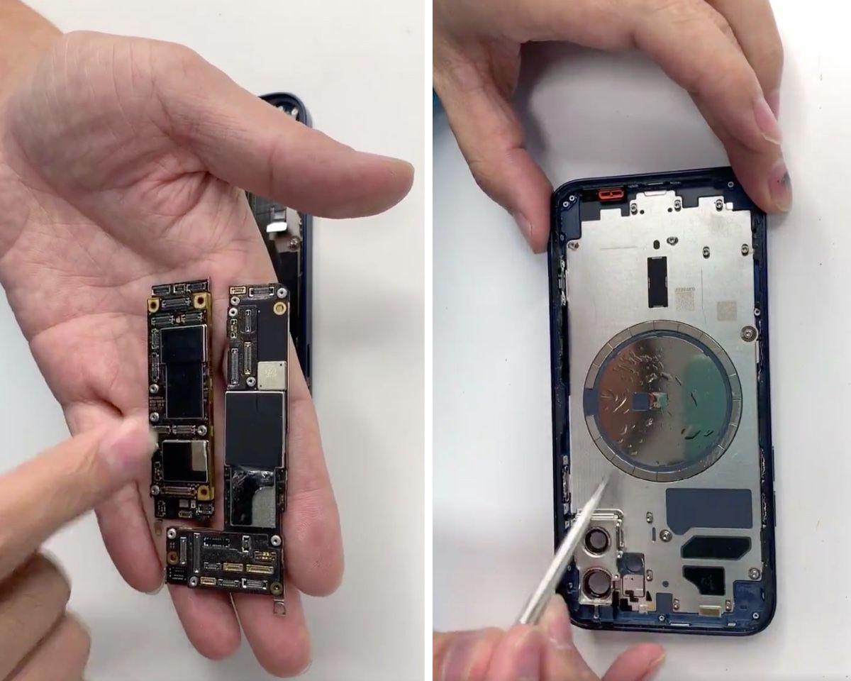 iPhone 12, prime foto e video di come è fatto dentro