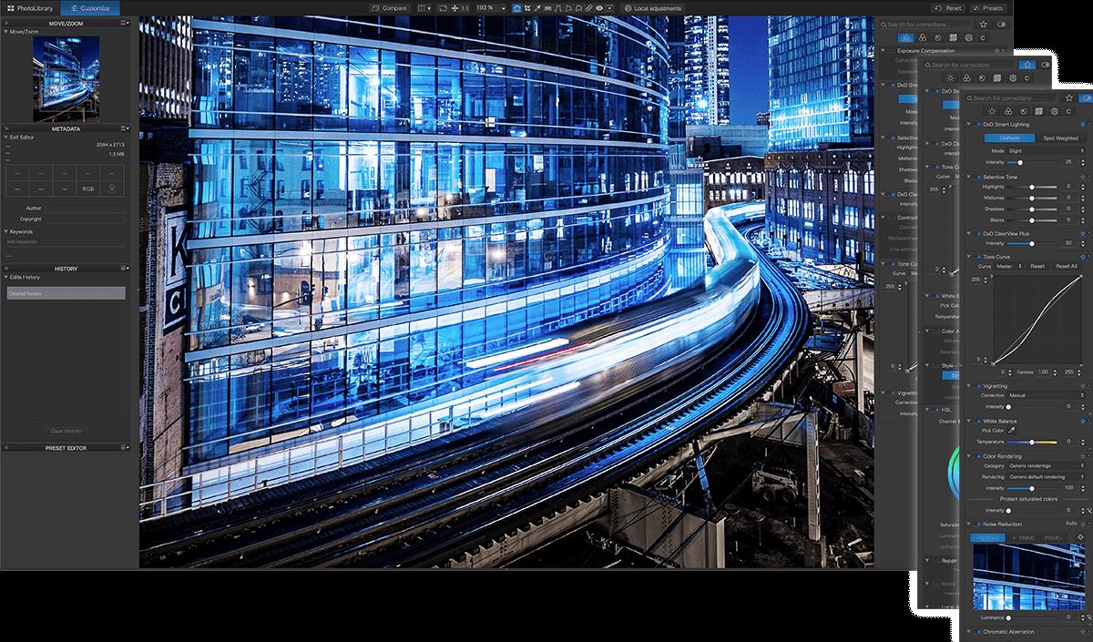 DxO PhotoLab 4, il software per lo sviluppo fotografico ora sfrutta anche l'IA