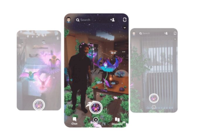 Snapchat supporta lo scanner LiDAR di iPhone 12 Pro