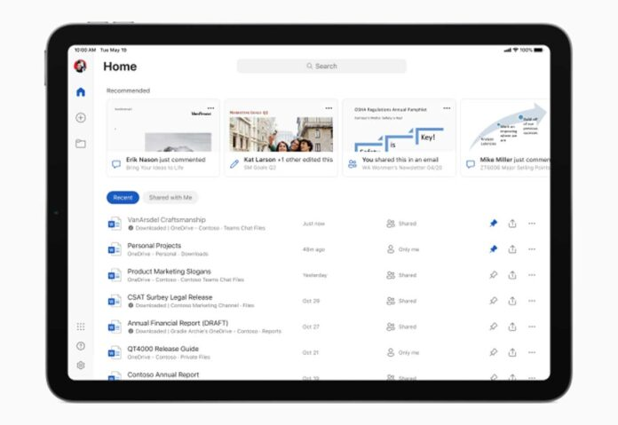 Le app di Microsoft Office su iPad ora supportano mouse e trackpad