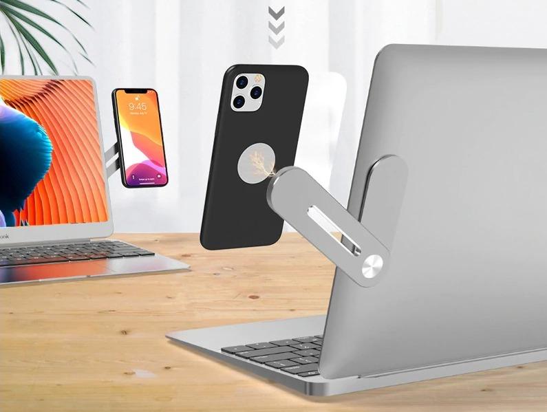 Braccio di supporto smartphone per Macbo …