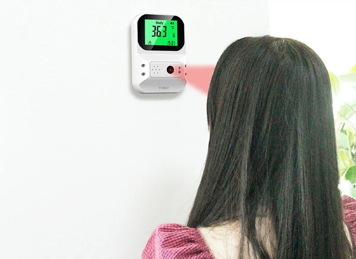 Solo 20 € termometro termo scanner a infrarossi senza contatto: perfetto ovunque