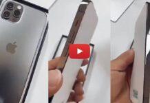 L'unboxing di iPhone 12 Pro è già online