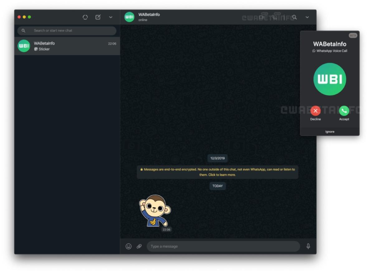 Whatsapp farà telefonare anche dal computer