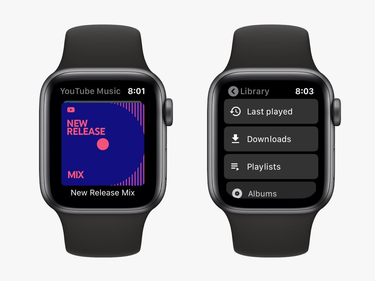 YouTube Music, ora c'è l'app per Apple Watch