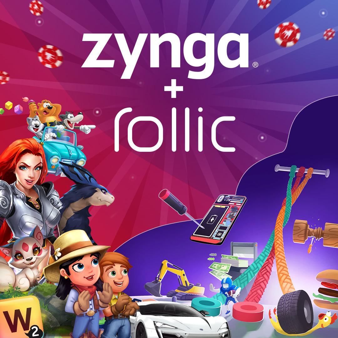 Zynga ha chiuso l'acquisizione di Rollic, azienda specializzata nell'Hyper-Casual Gaming