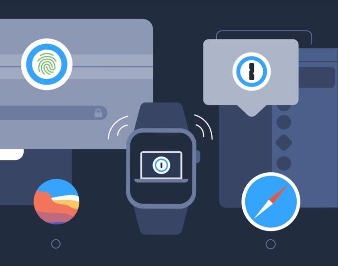 1Password per Mac ora si può sbloccare con l'Apple Watch
