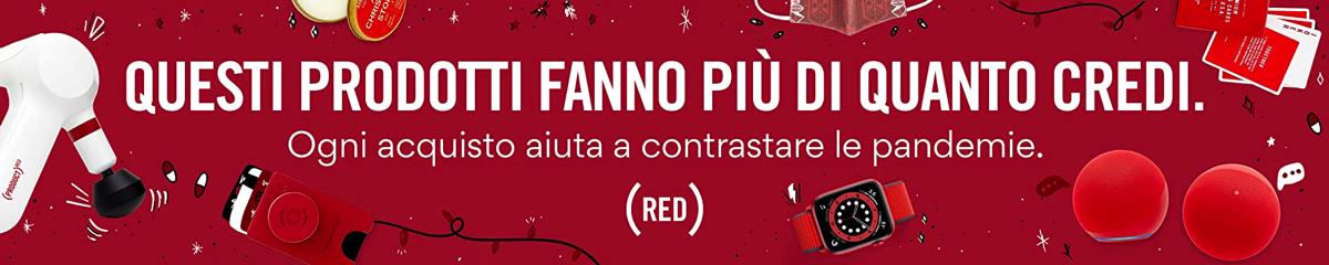 Amazon (echo) RED contribuisce alla lotta contro le pandemie
