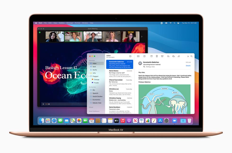 Disponibile macOS Big Sur, dettagli e novità
