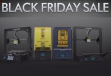 Le stampanti 3D a Resina, FDM e con laser tutte in offerta per Black Friday e Cyber Monday