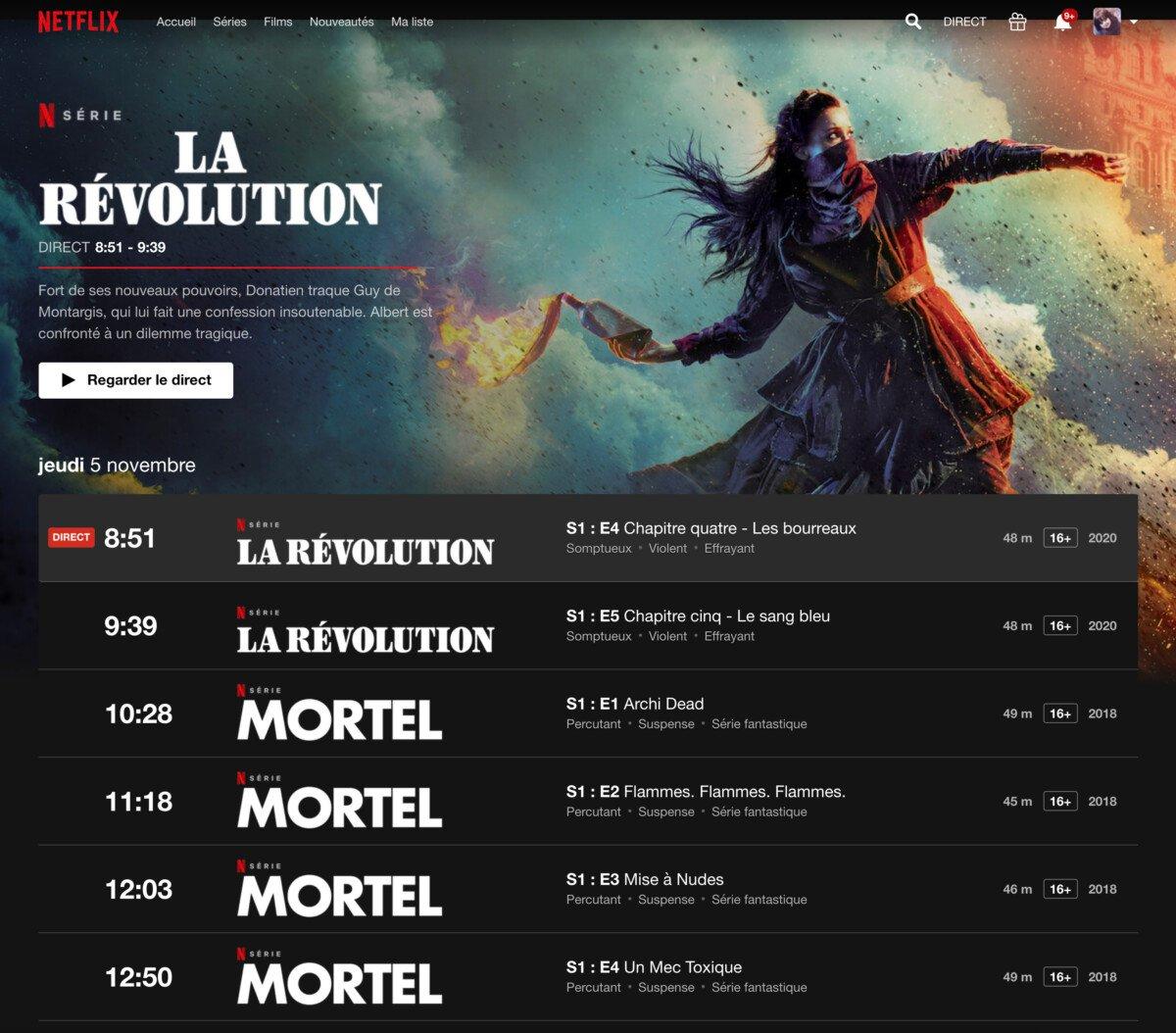 Netflix testa in Francia un canale stile TV tradizionale