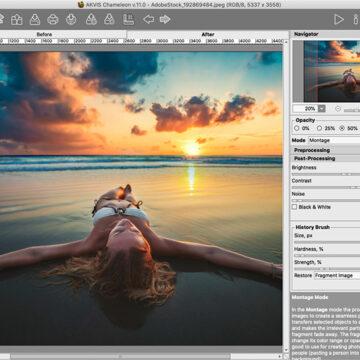 AKVIS Chameleon 11.0 crea immagini composite e collage su Mac e PC